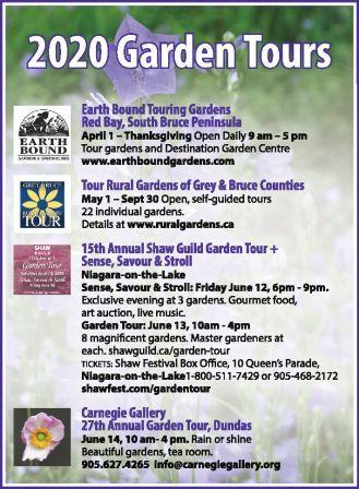 Gardens Near the Niagara Escarpment!