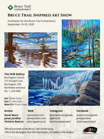 Visit the art show that supports the Bruce Trail